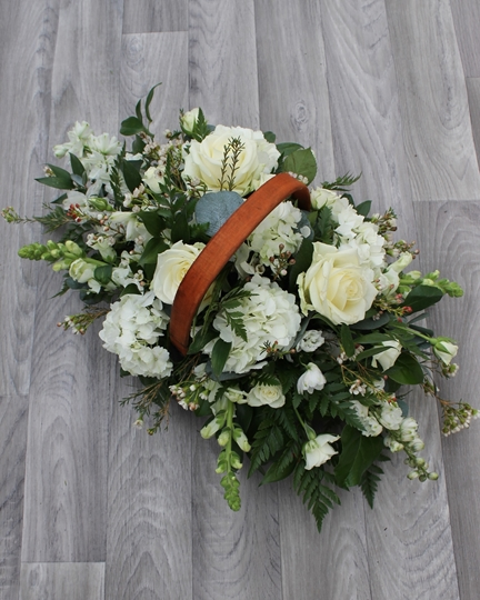 Picture of Mixed Basket - White £40