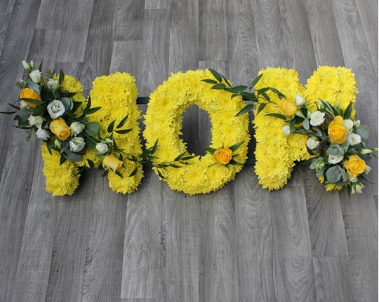 Picture of Mom Tribute - Yellow and White