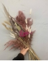 Picture of Dried Bouquet - Natural and Dusky Pink