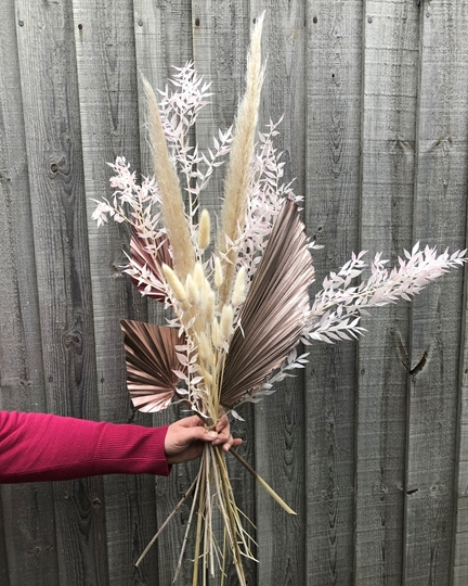Picture of Dried Bouquet - Rose Gold and Neutral
