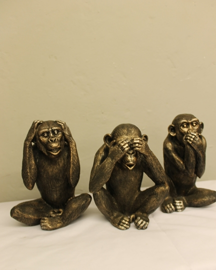 Picture of No Evil Monkeys (currently out of stock)