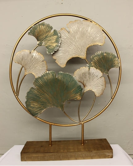 Picture of Ginkgo Leaf Deco On Stand
