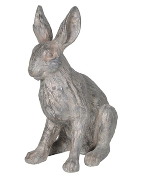 Picture of Grey Resin Rabbit