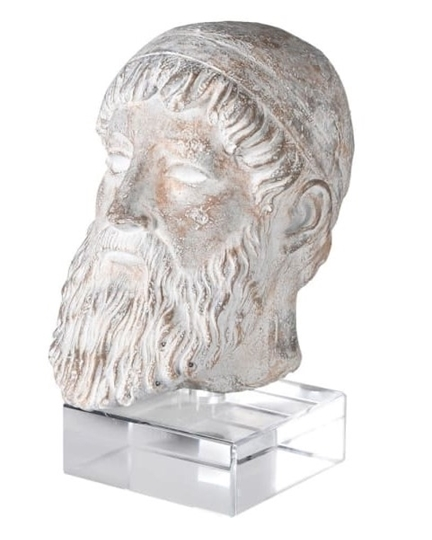 Picture of Zeus Bust On Acrylic Stand