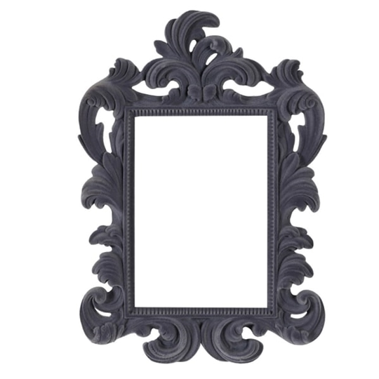 Picture of Grey Flock Photo Frame