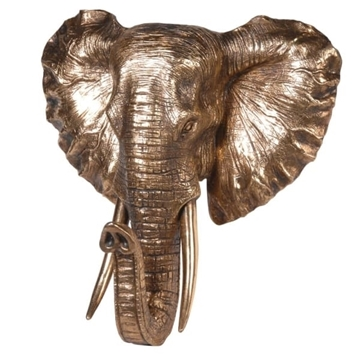 Picture of Gold Elephant Head
