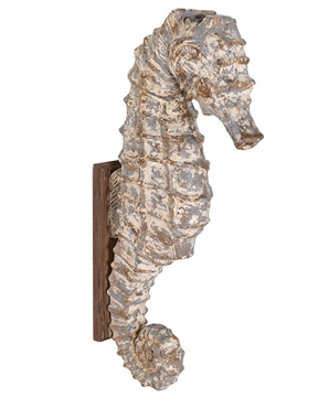 Picture of Distressed Seahorse Wall Decoration