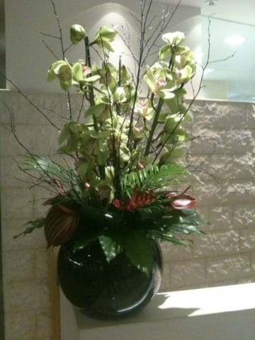 Penny Johnson Flowers Corporate Flowers Displays