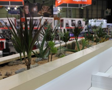 Cactus Garden For Lumix Stand At Photography Show NEC