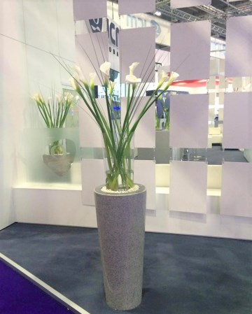 Calla Lily Vase Display For JCM At ICE Totally Gaming Excel