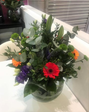 Lily, Gerbera & Lisianthus Vase Display For ICE Totally Gaming Excel
