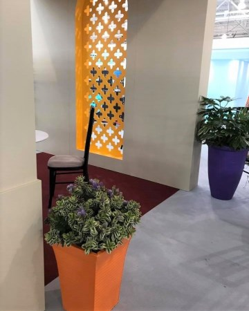 Hebe Planter For Furniture Show Nation Exhibition Centre  NEC Birmingham
