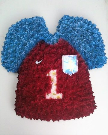 Aston Villa Football Shirt