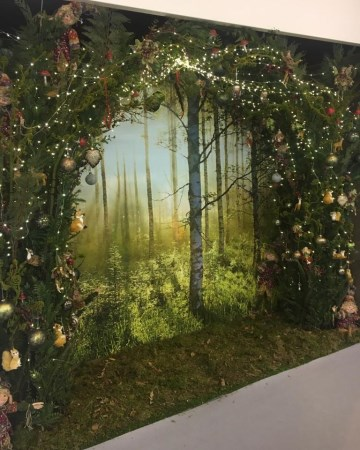 Woodland Feature Wall