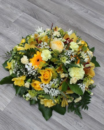 Posy Display - Yellow - Lemon - Gold