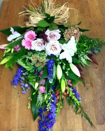 Hand Tied Sheaf Design - Country Garden