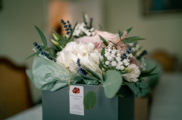 Packaged Bridal Bouquet